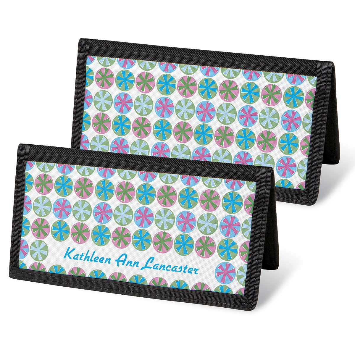 Retro Patterns  Checkbook Covers