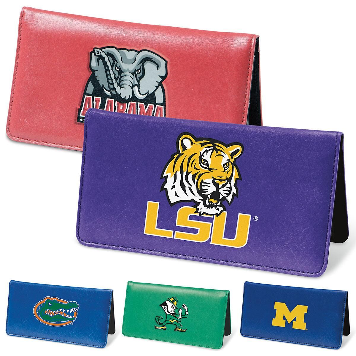 Collegiate Checkbook Cover
