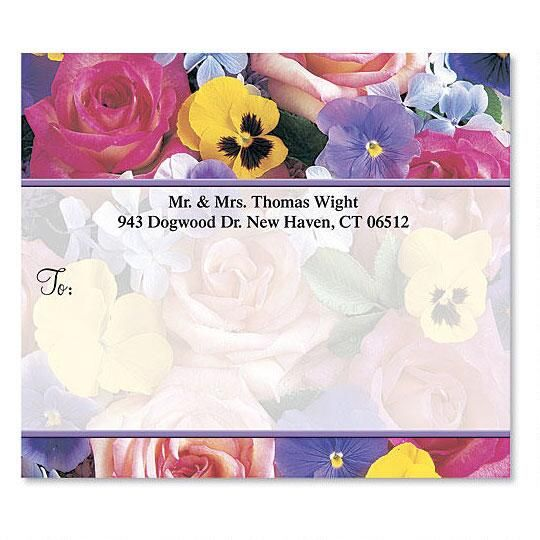 Beautiful Blossoms Package Label