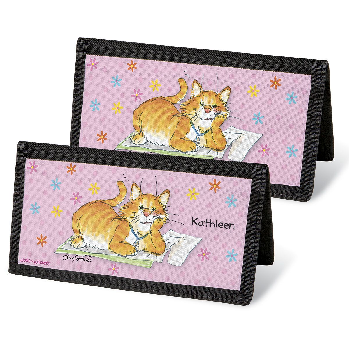 Wags & Whiskers®  Checkbook Covers