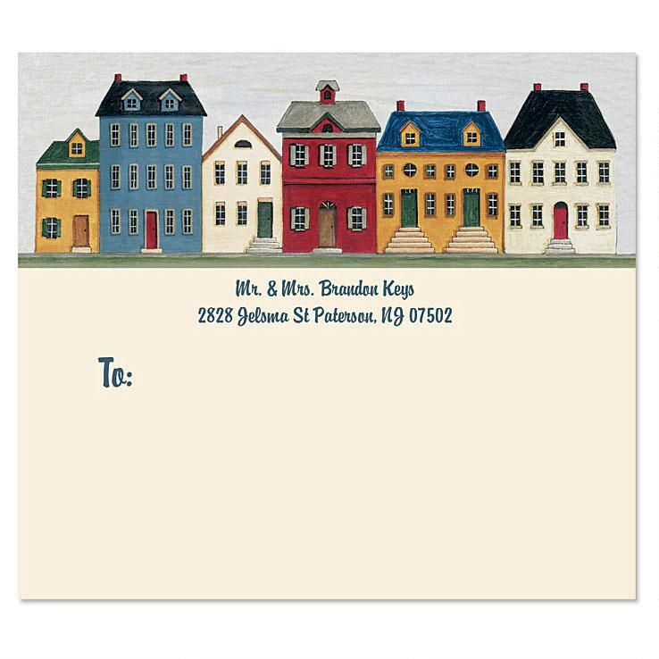 Saltbox Homes Package Label