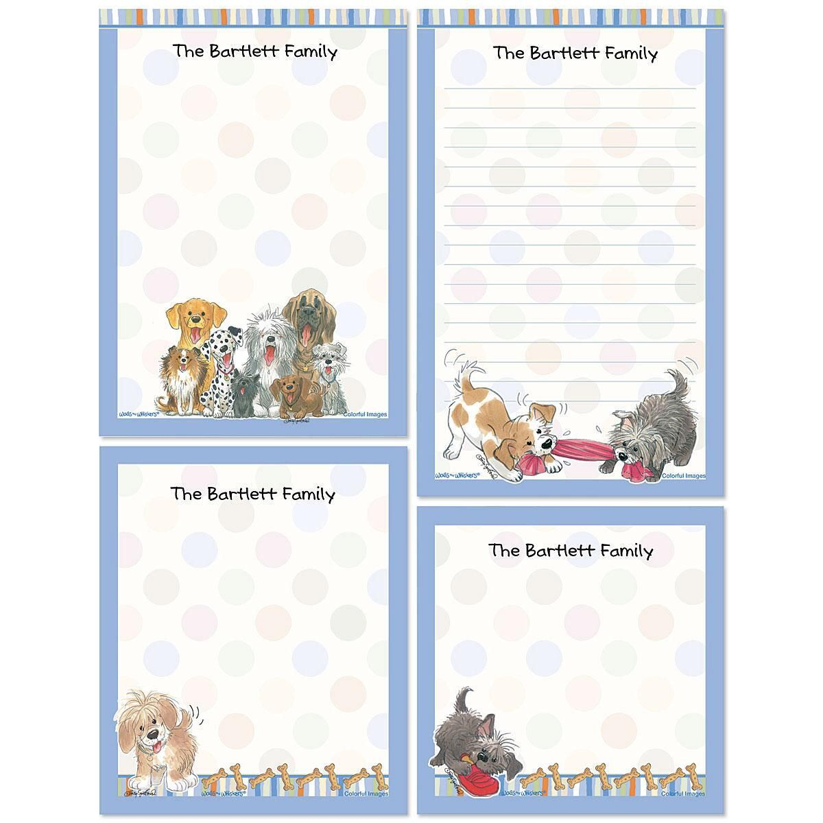 Wags™ Personalized Notepads
