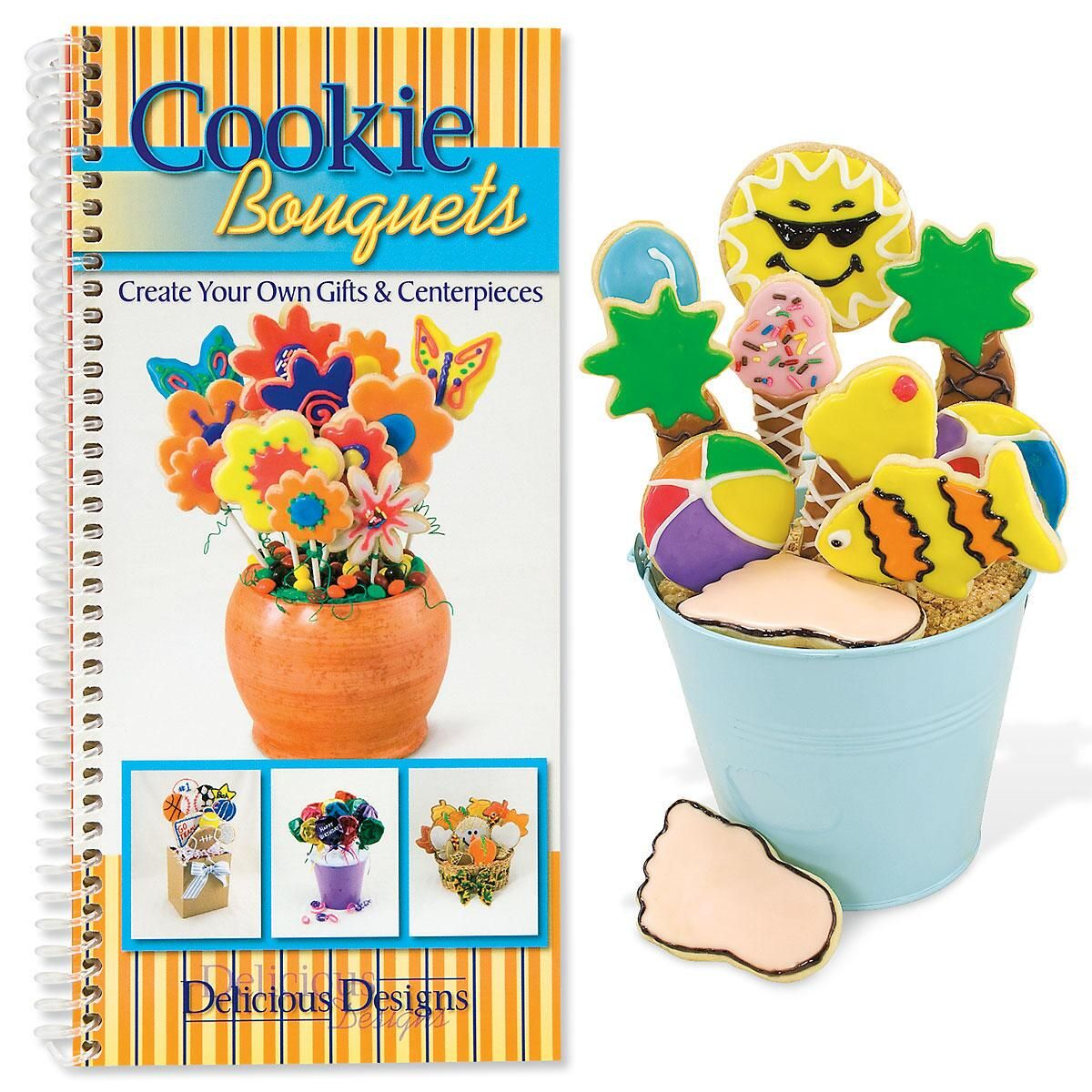 Edible Cookie Bouquets Book