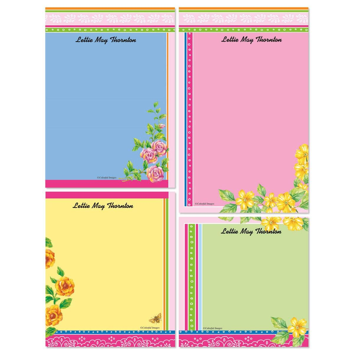 Color Bandana Memo Pad Sets