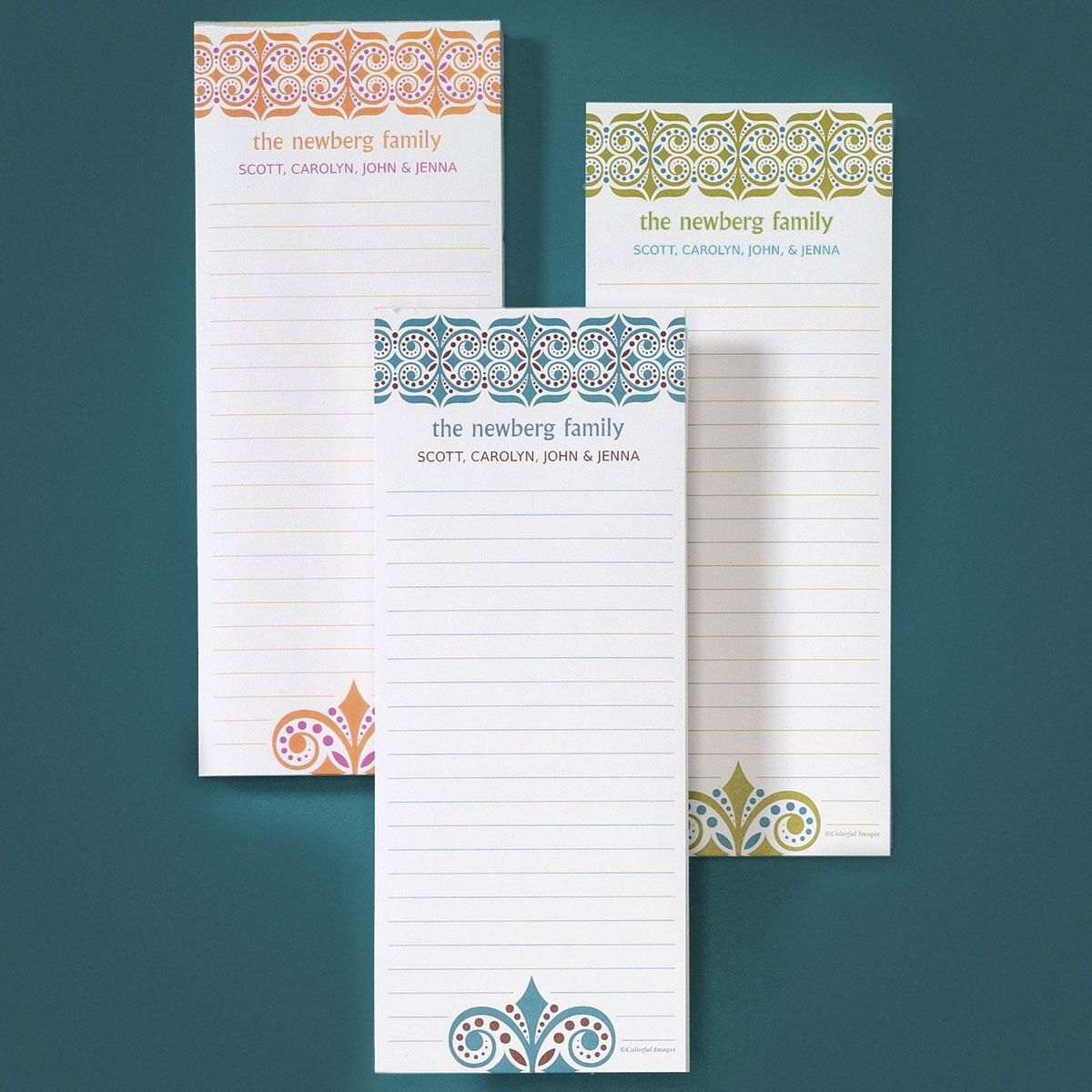 Improv Lined Memo Pads  (3 Colors)
