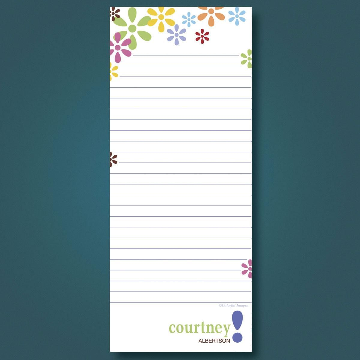 Hopscotch Lined Memo Pads