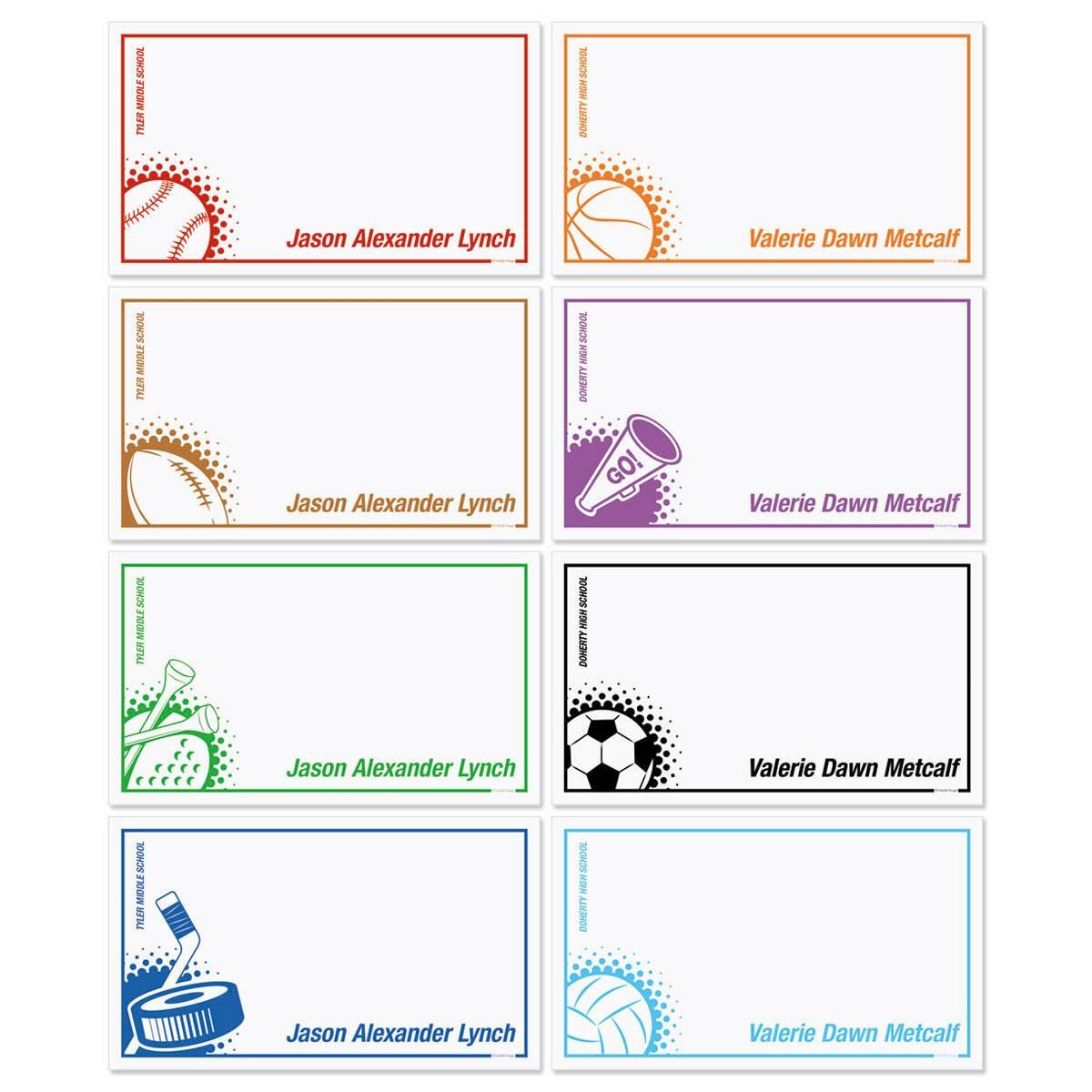 Sports Memo Pad Sets