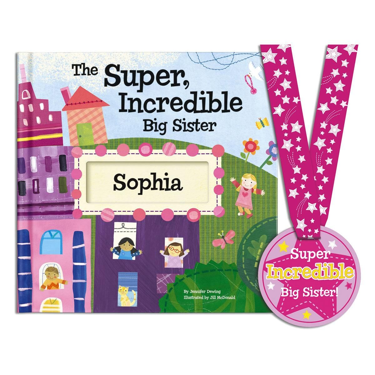The Super Incredible Big Sister Storybook
