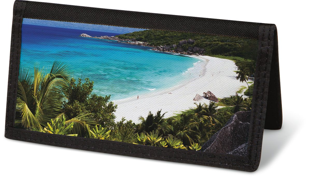 Tropical Paradise II  Checkbook Cover - Non-Personalized