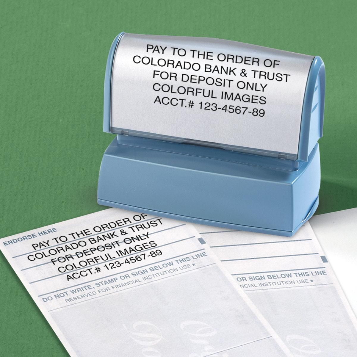 Deposit Address Stamper