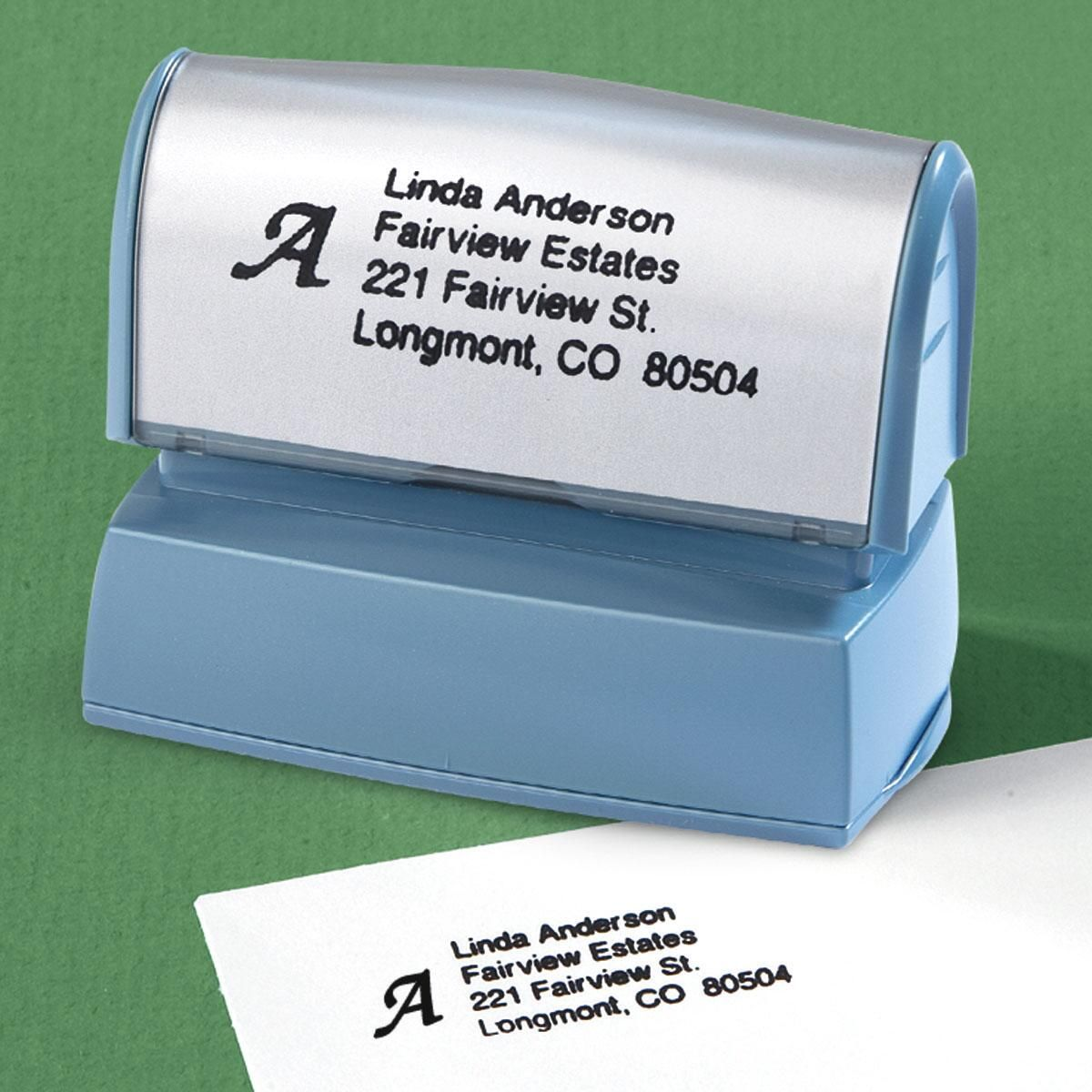 initial address stamper current catalog
