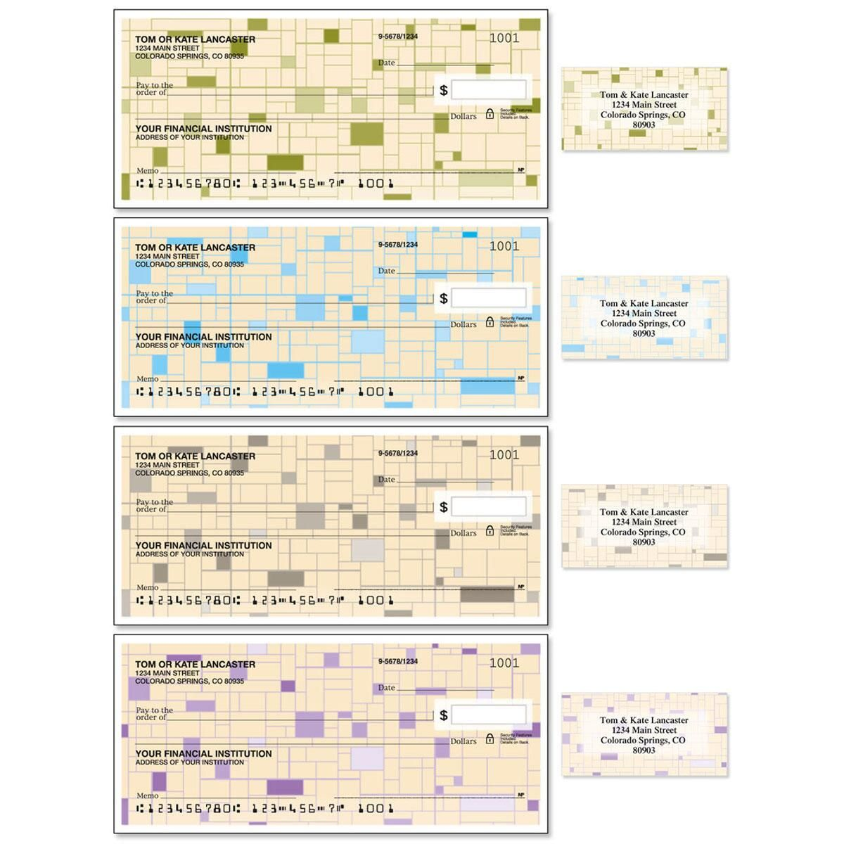 Gridlock Single Checks With Matching Address Labels