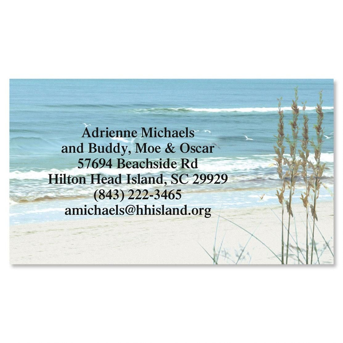 Seashore Business Cards