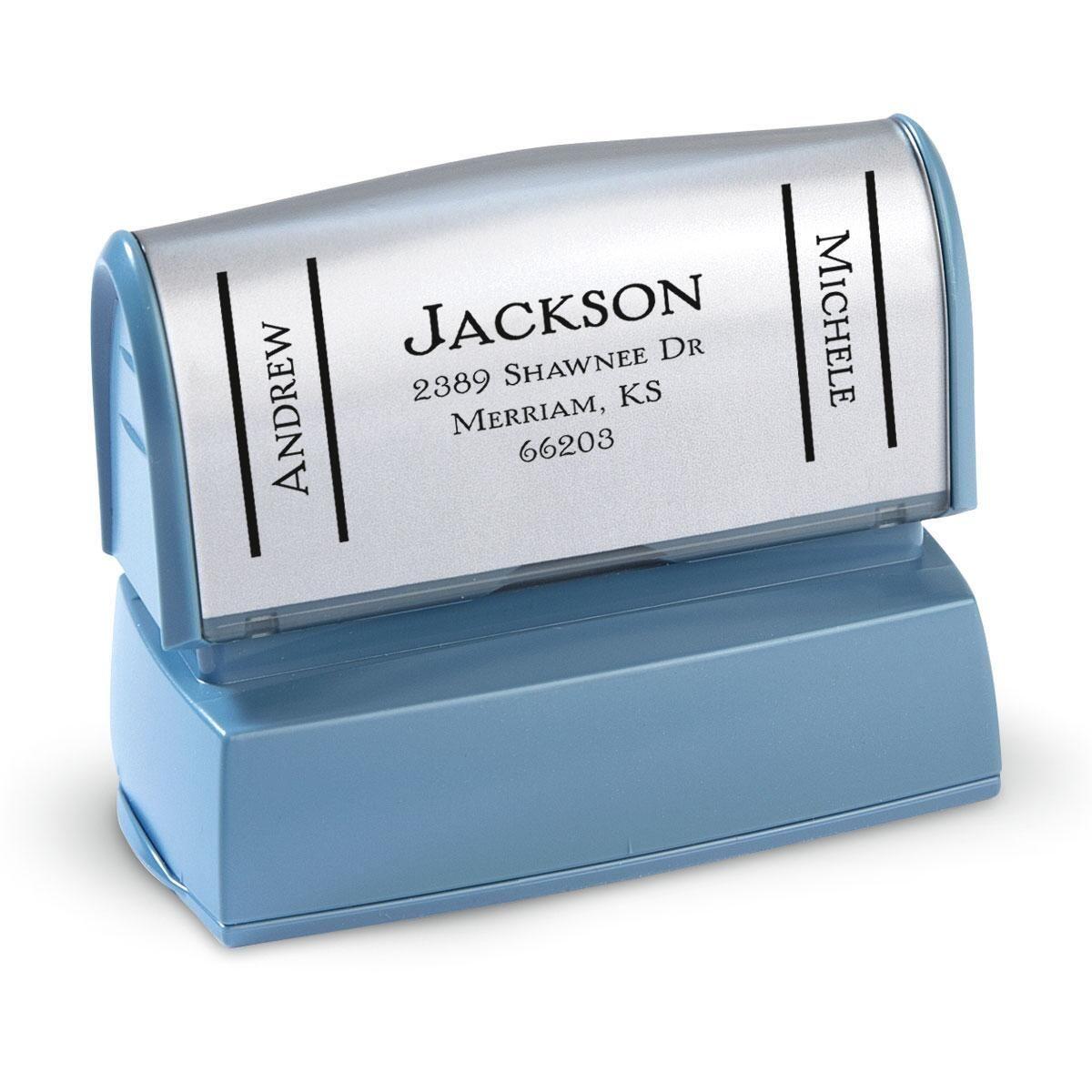 Side Show-Large Address Stamper