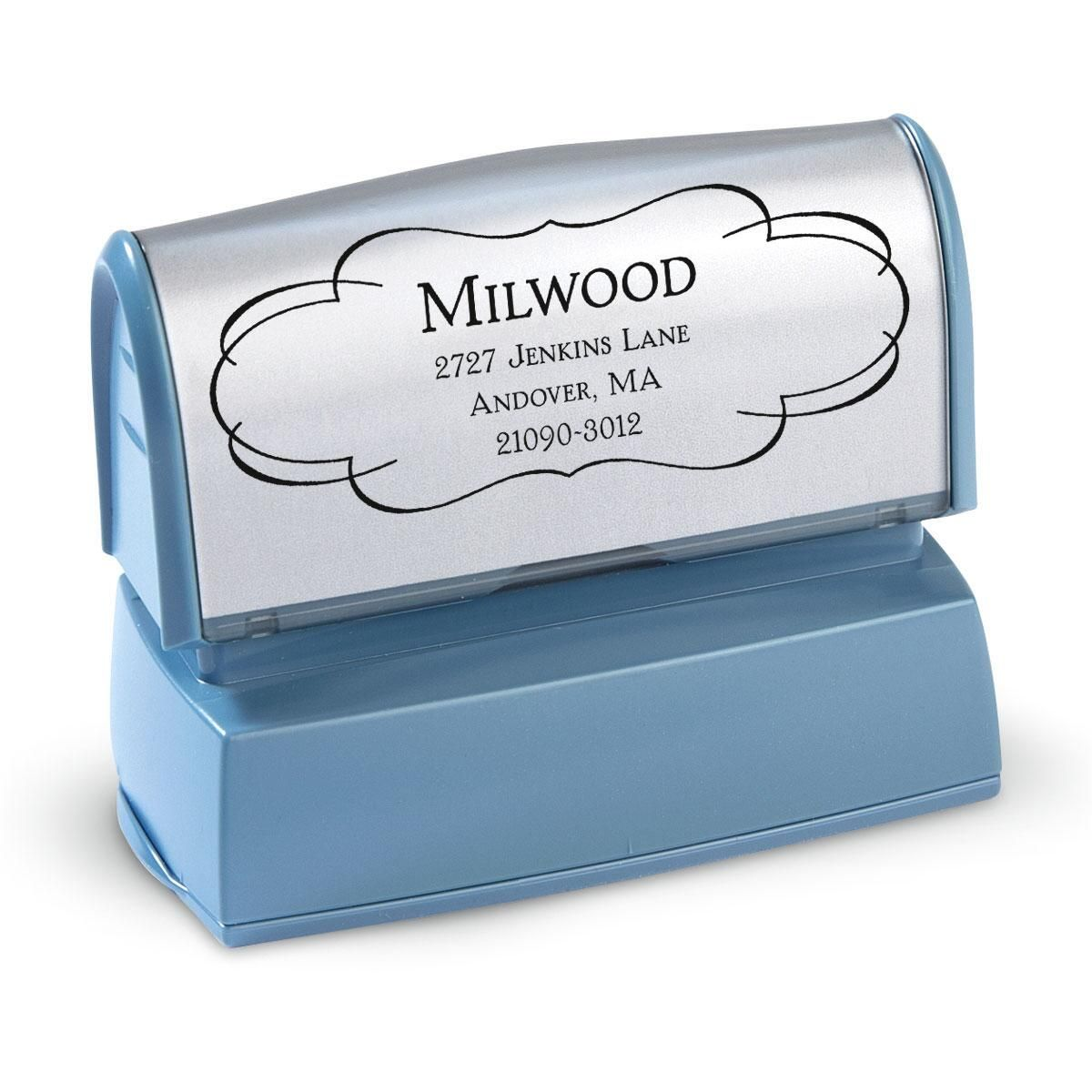 Elegant Frame Pre-Inking Address Stamp