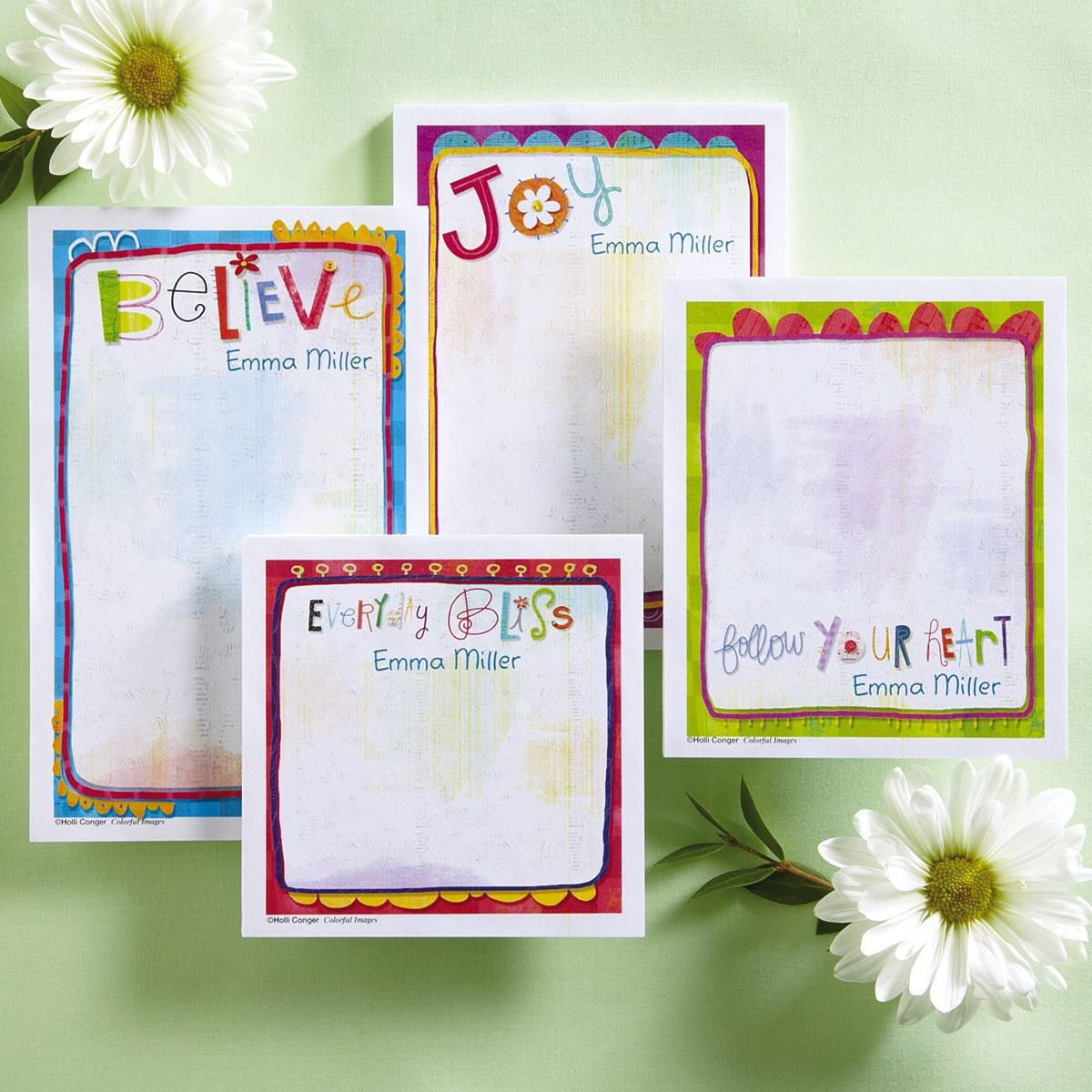 Sprouted Wisdom Memo Pad Sets