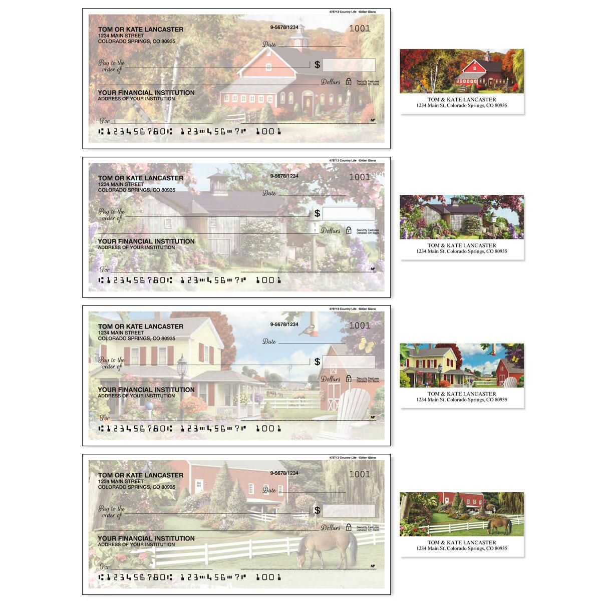 Country Life Duplicate Checks With Matching Address Labels