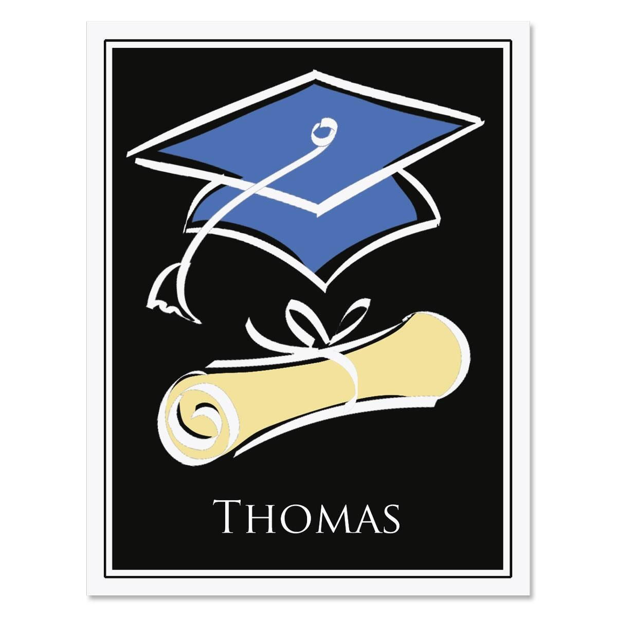 The Graduate Personalized Thank You Note Cards