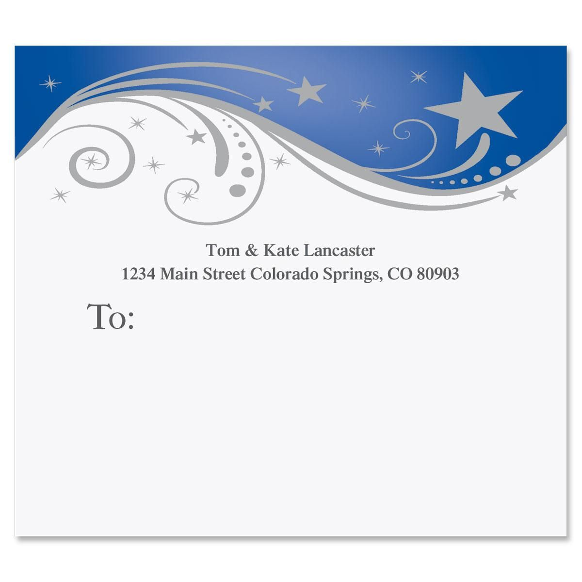 Splendid Star Mailing Package Label