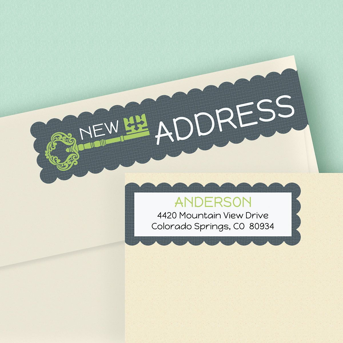 New Pad Wrap Around Address Labels
