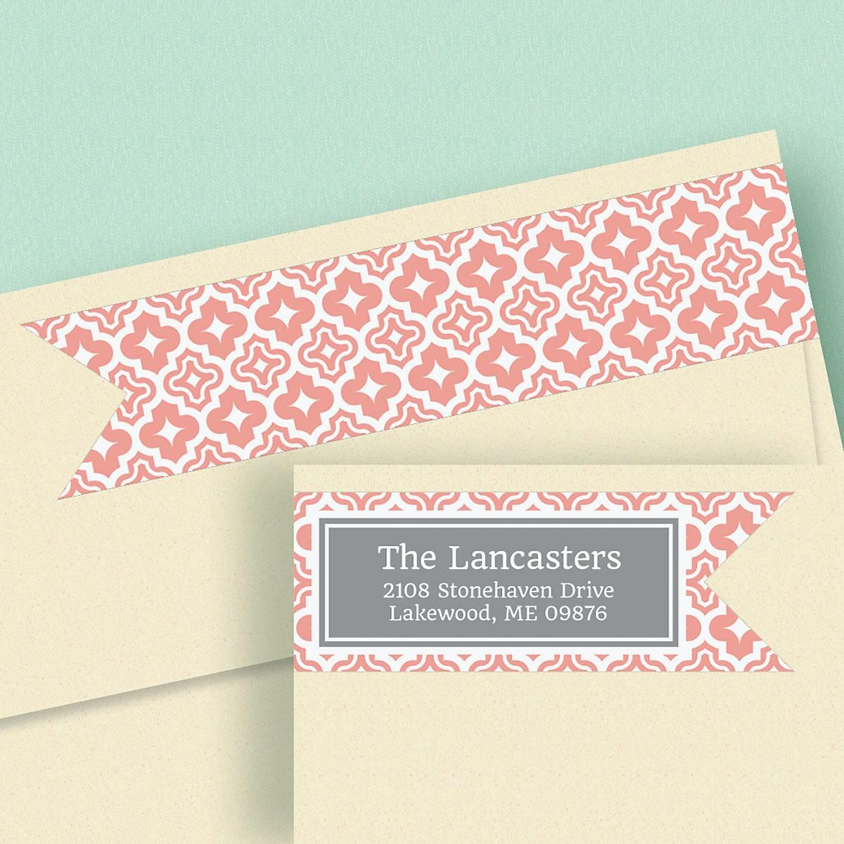 Metropolitan Wrap Around Address Labels