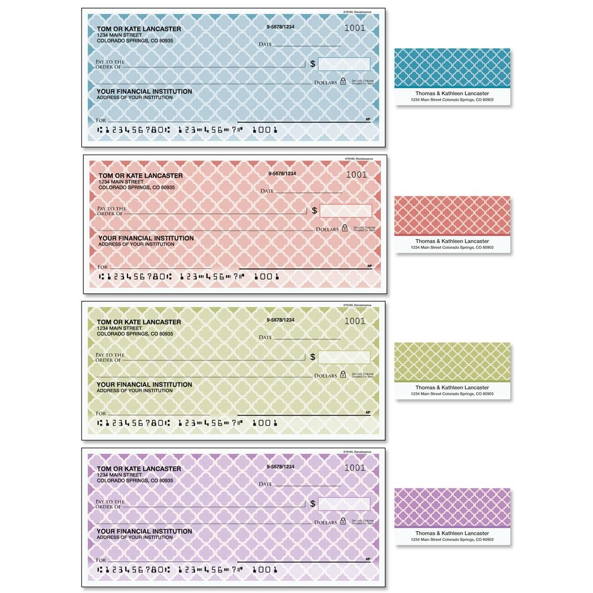 Renaissance Duplicate Checks with Matching Labels