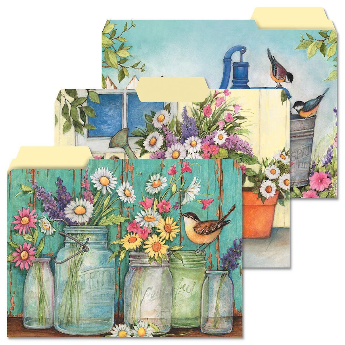 Garden Signs File Folders