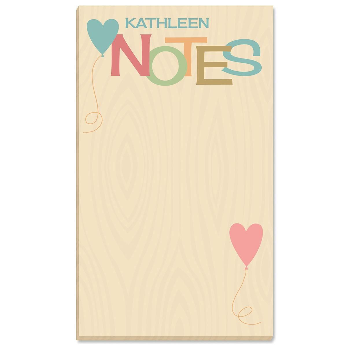 Personalized Natural Notepad