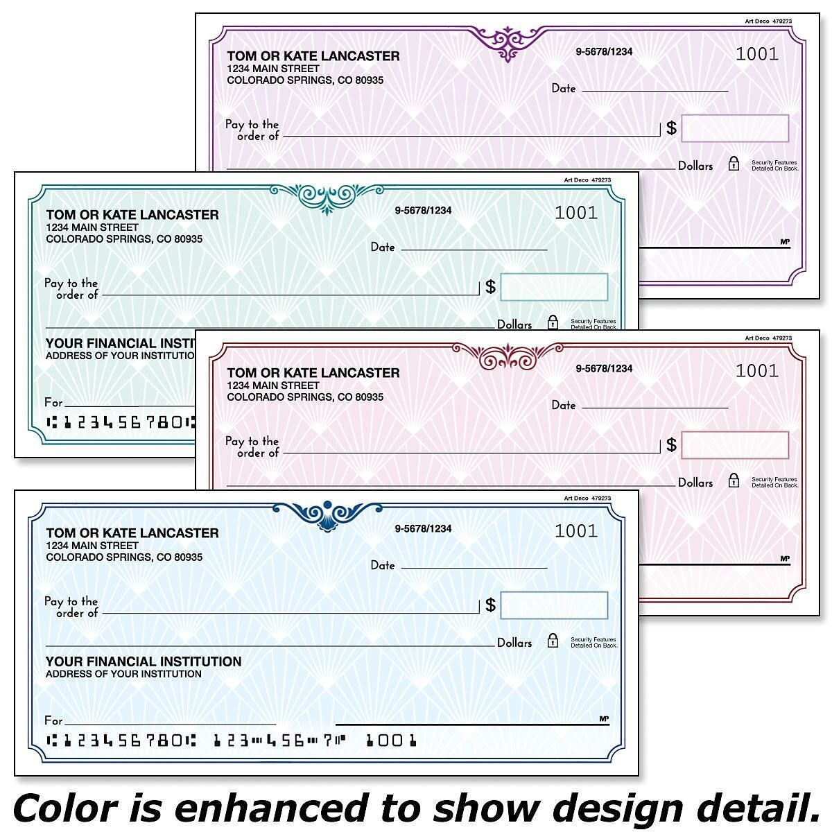 Art Deco Duplicate Checks
