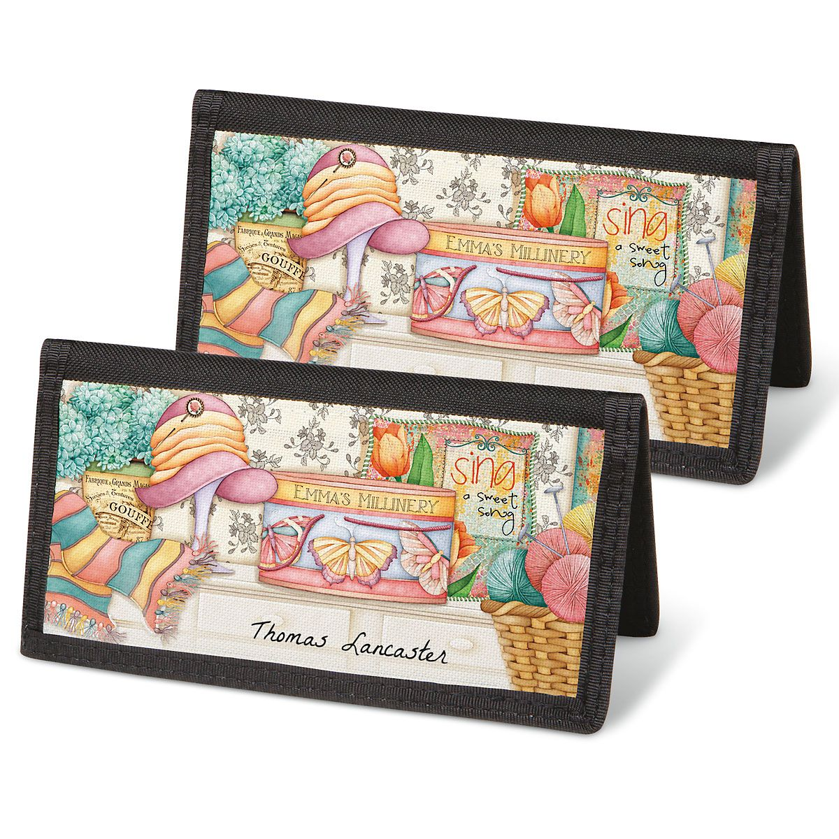 Cozy Comforts Checkbook Covers