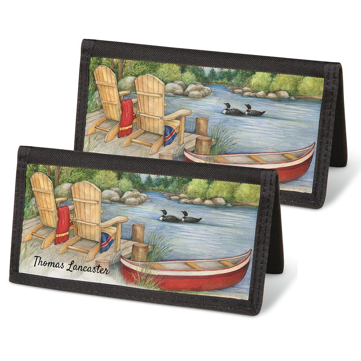 Lakeside Checkbook Covers