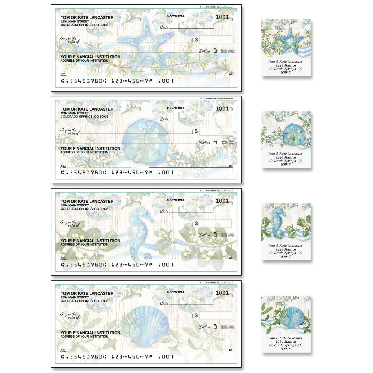 Ocean Tide Duplicate Checks with Matching Labels