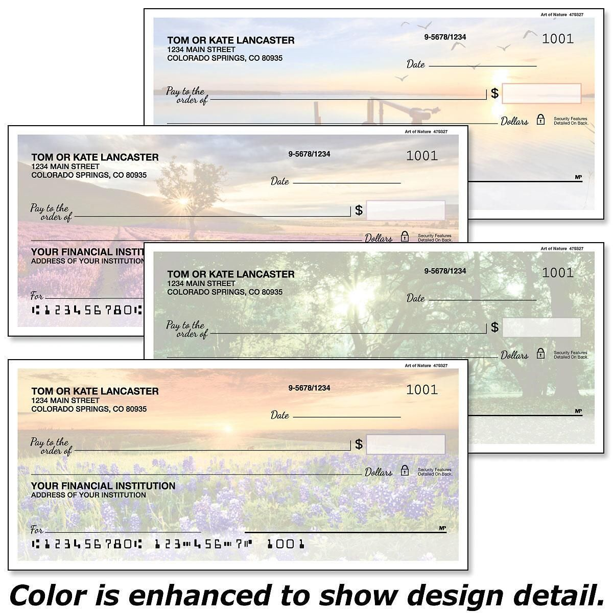 Art of Nature Single Checks