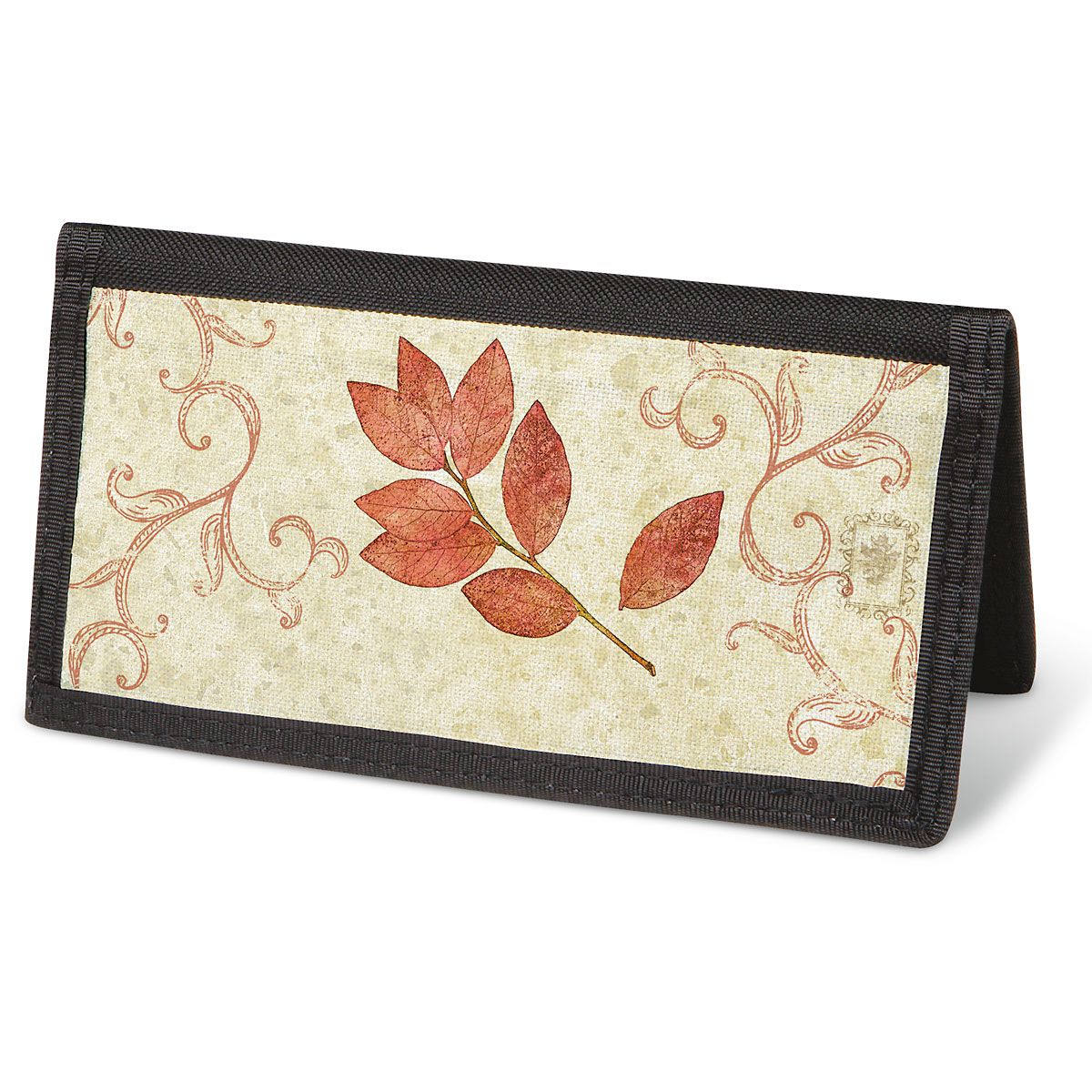 Fallen Leaves Checkbook Cover - Non-Personalized
