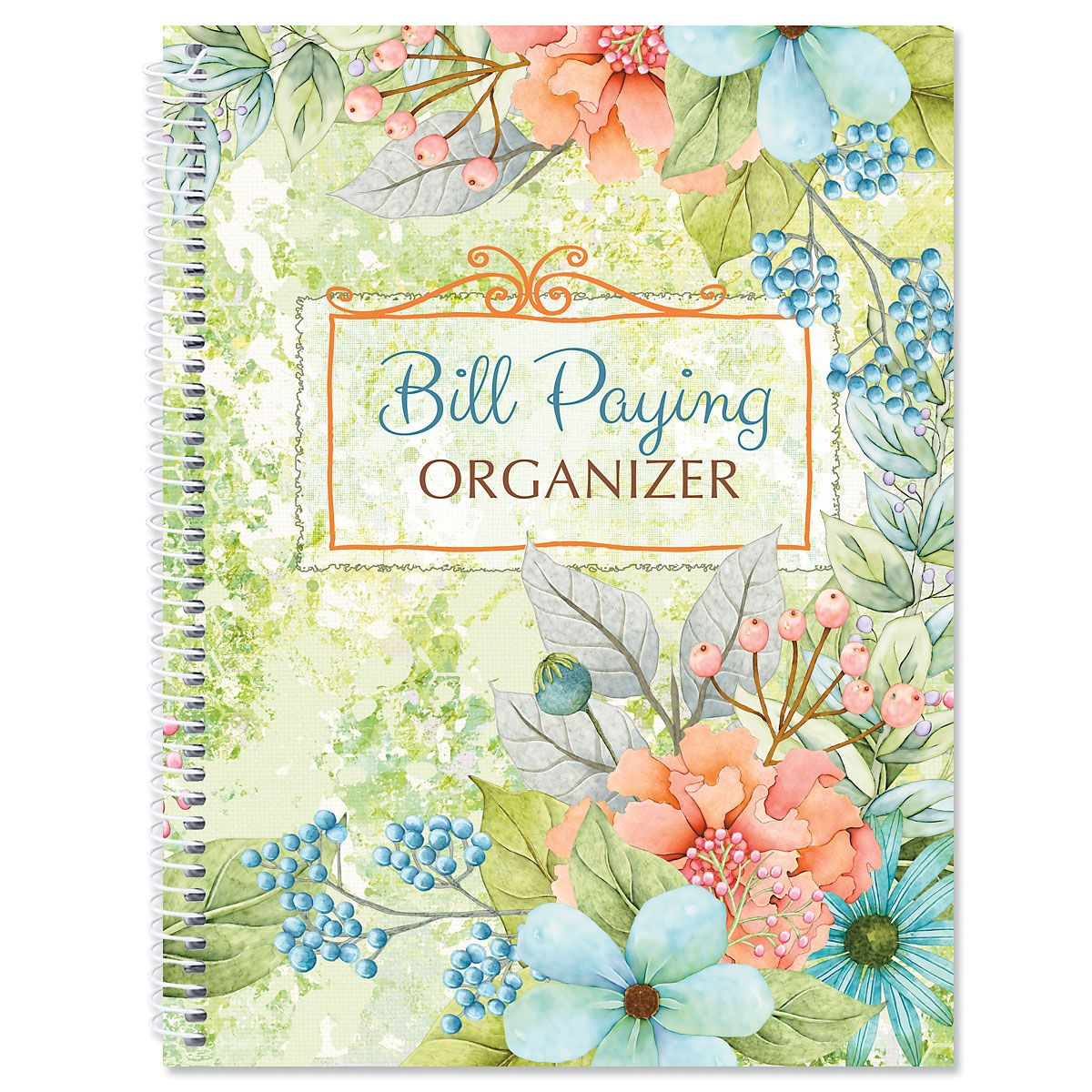 Sentiment Garden Bill Paying Organizer