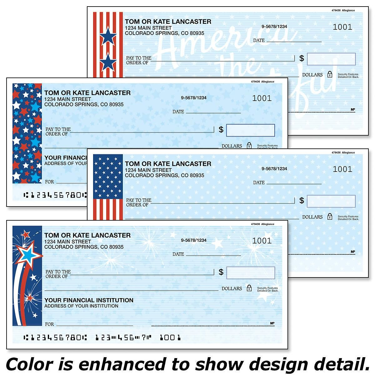 Allegiance Single Checks