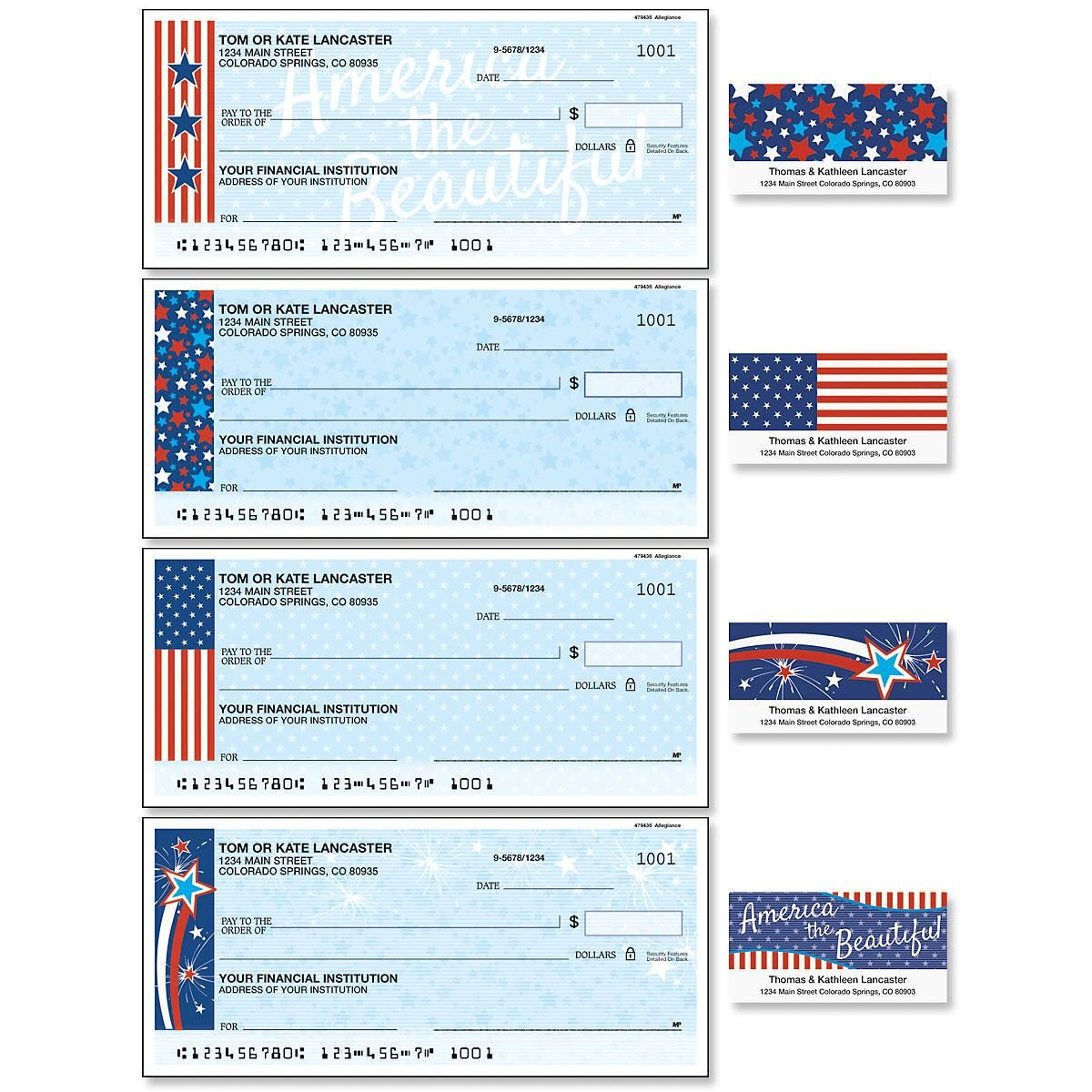 Allegiance Duplicate Checks with Matching Address Labels