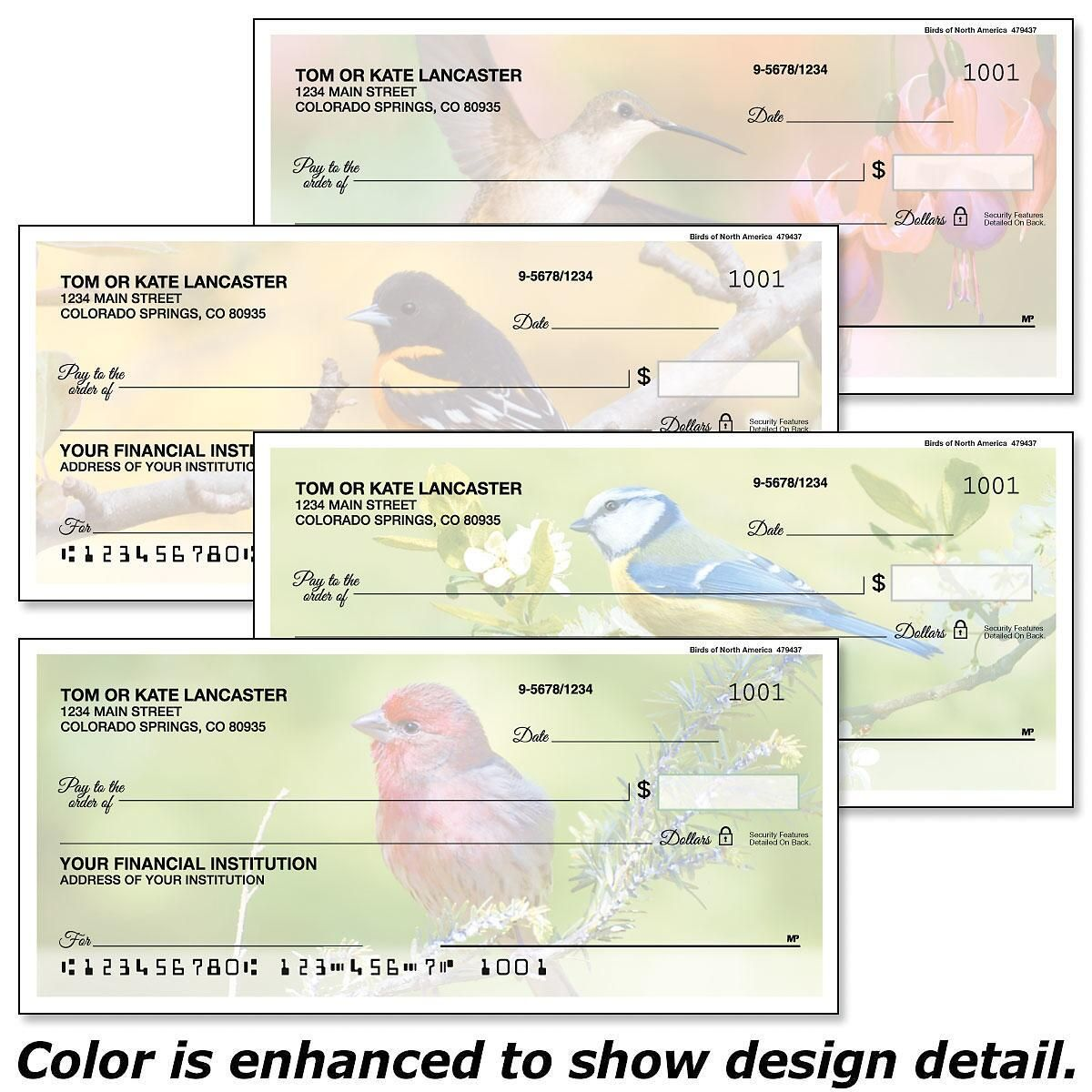 Birds of America Duplicate Checks