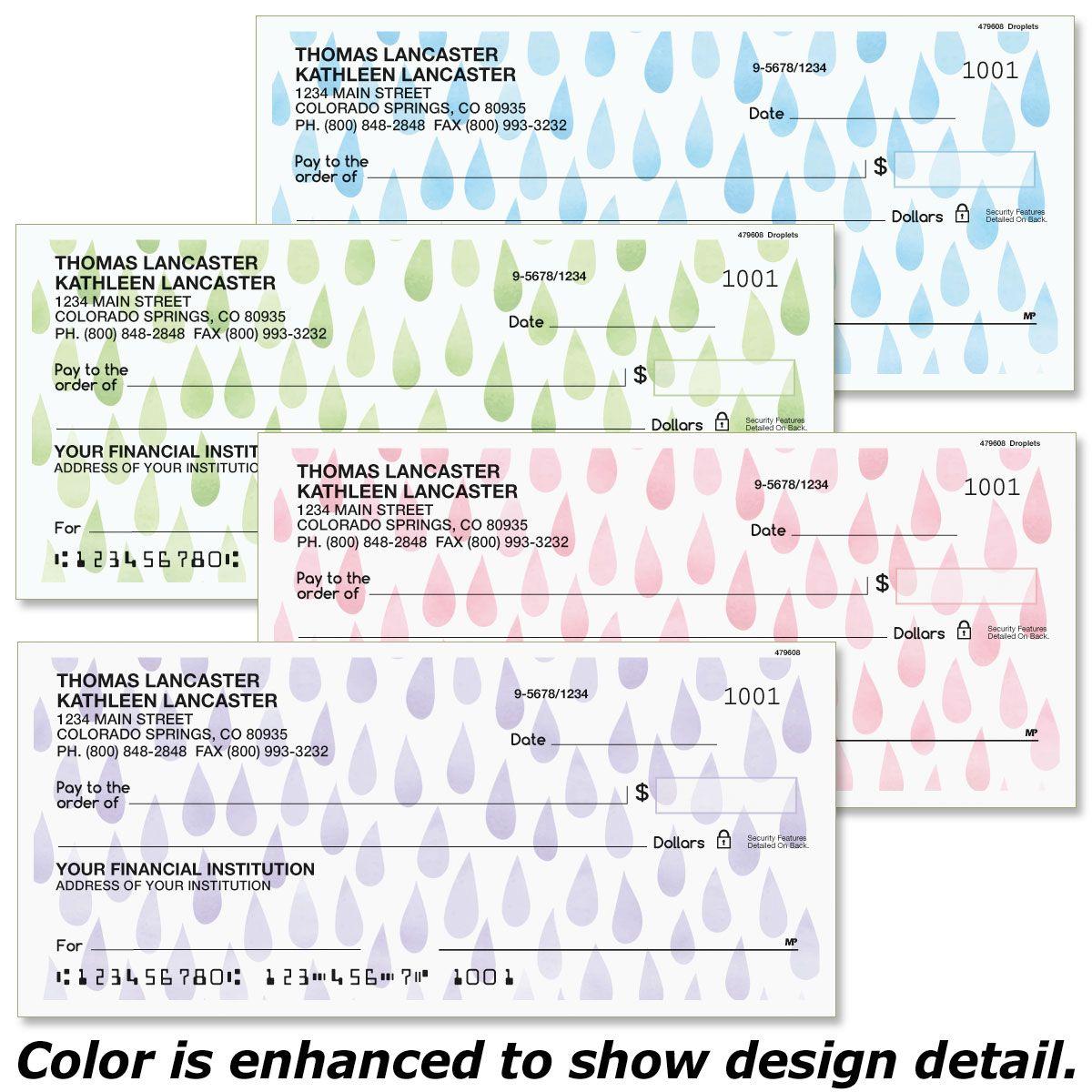 Droplets Duplicate Checks