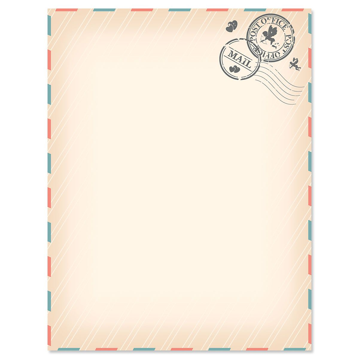 Love Letter Valentine's Day Letter Papers