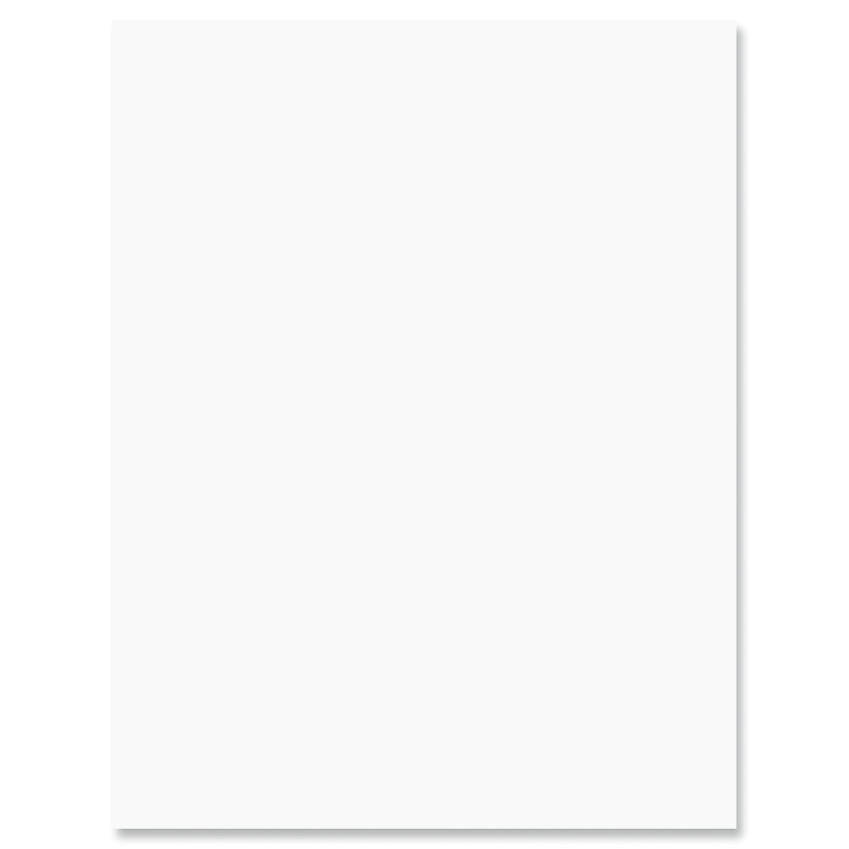 Plain White Letter Papers