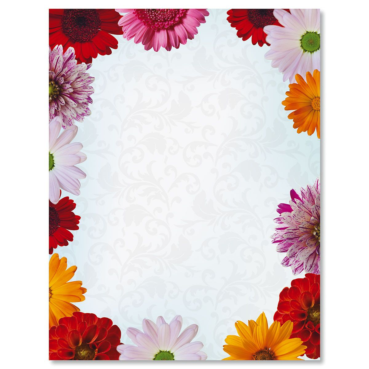 Daisies Easter Letter Papers