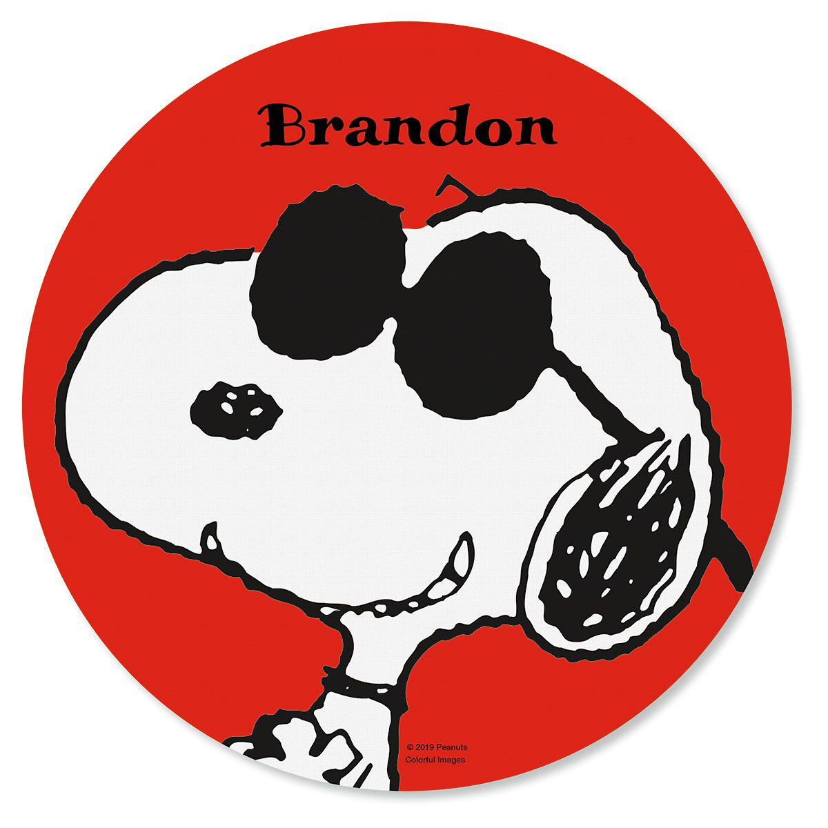 Snoopy™ Mouse Pad Personalized