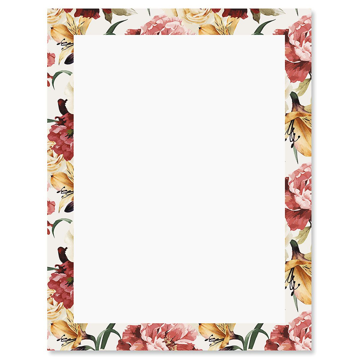 Humble Roses Letter Papers