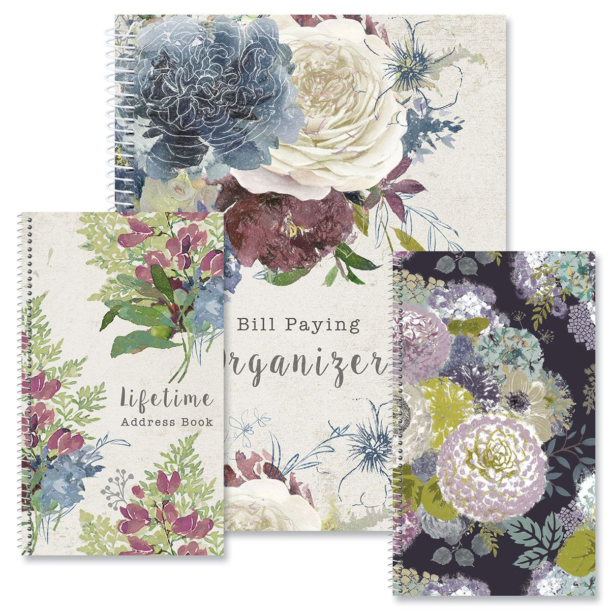Fall Florals Organizers