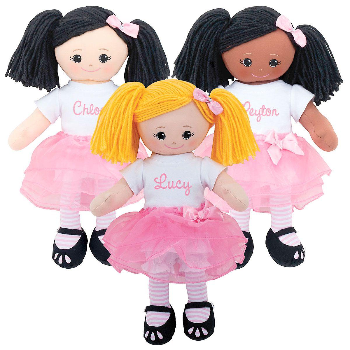 Ballerina Rag Doll with Tutu