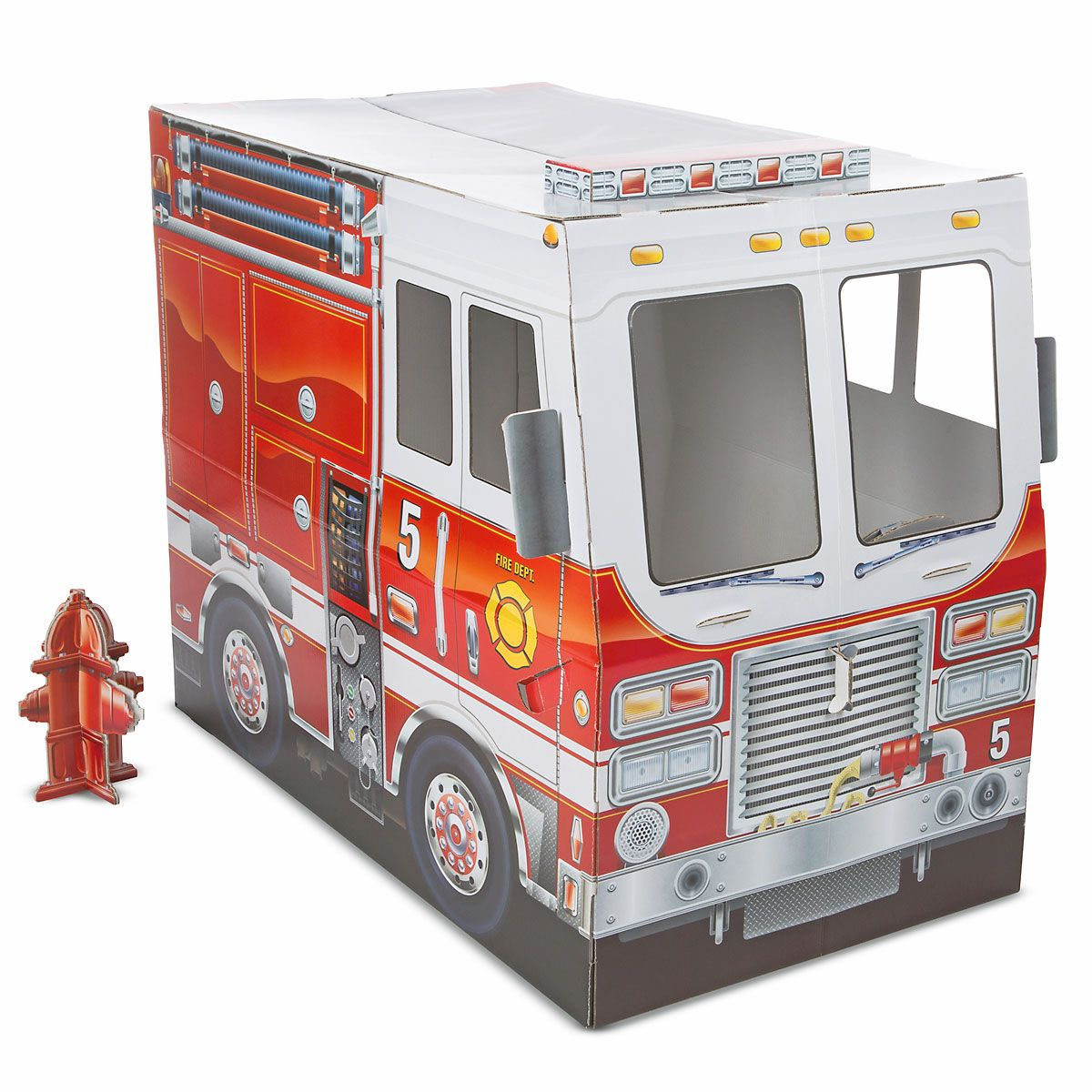 Fire Truck Indoor Playhouse by Melissa & Doug®