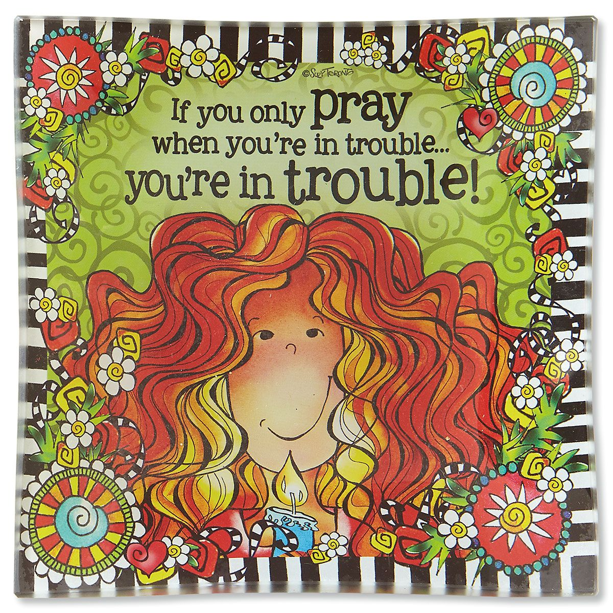If You Only Pray Trinket Tray