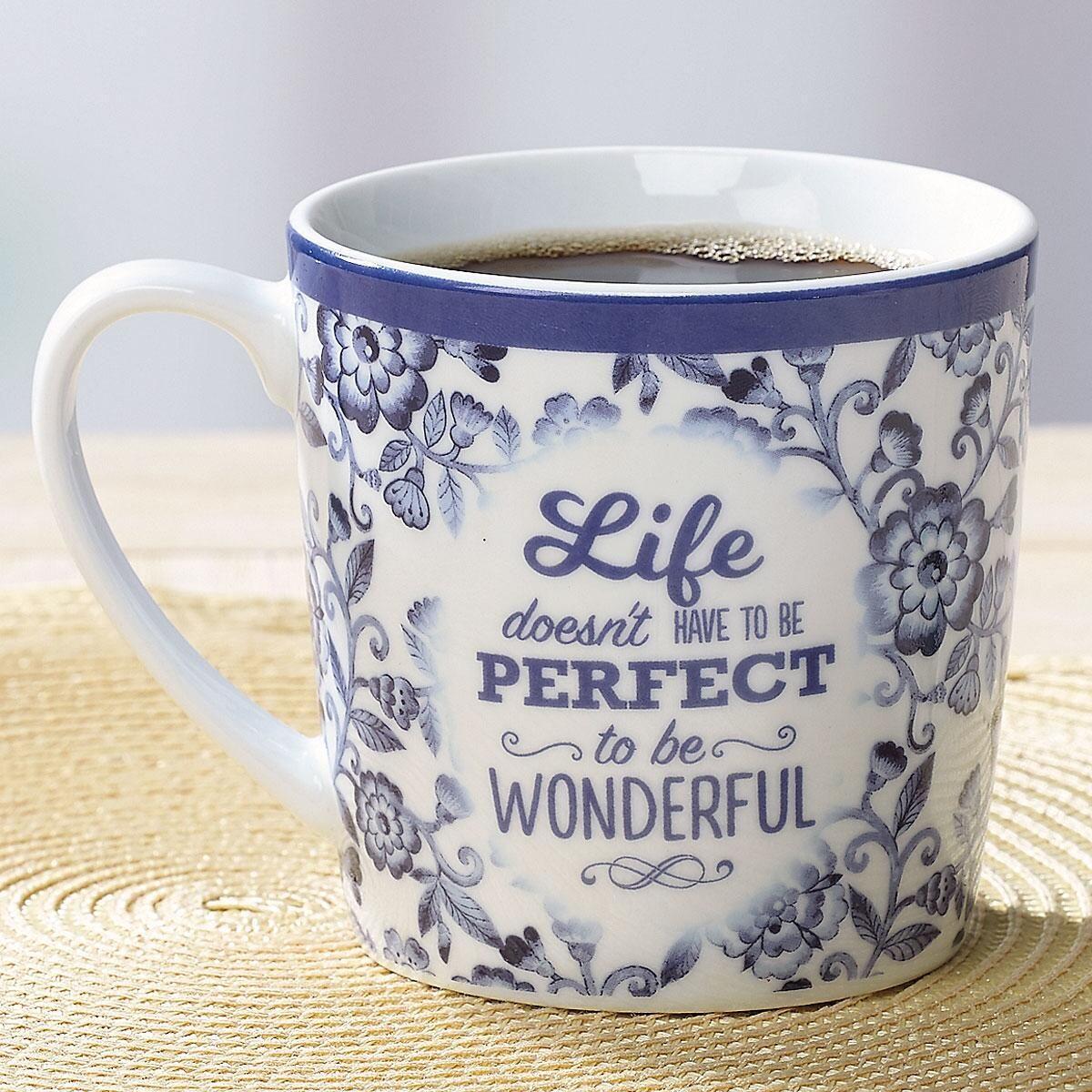 Perfect Life Inspirational Mug