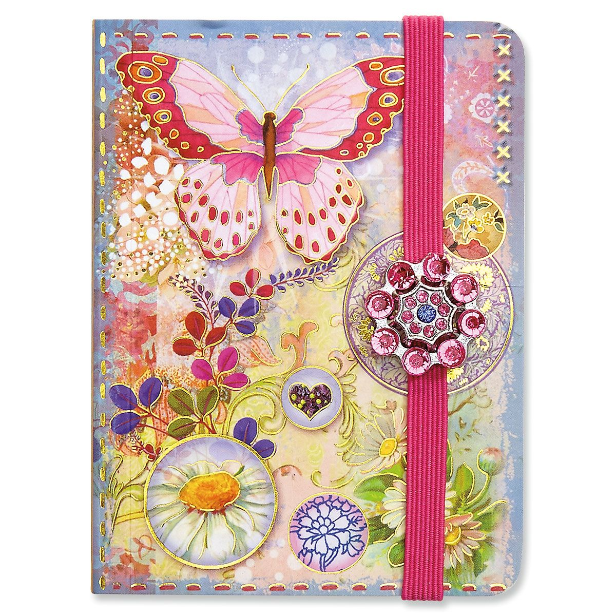 Butterfly Bubbles Pocket Notepad
